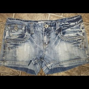 Maurices Light Jean Shorts
